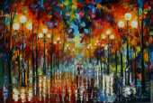 A date with the rain (Afremov)