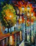 After a night rain (Afremov)