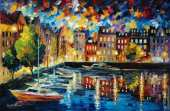 Amsterdams - Port (Afremov)