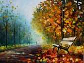 Autumn park (Afremov)