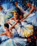Avant le spectacle (Afremov)