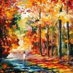 Attraction d'automne (Afremov)
