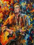 Johnny Cash (Afremov)