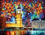 Londres - Big Ben (Afremov)