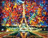 Paris of my dreams (Afremov)