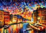 Venise - Grand canal (Afremov)