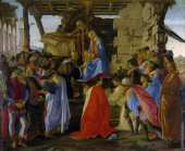 Adoration des Mages 2 (Botticelli)