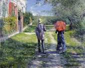 Chemin Montant (Caillebotte)
