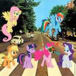 My Little Pony Abbey Road (d'après Les Beatles)