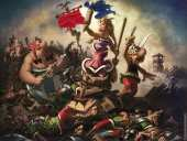 The Gauls Leading the People (after Delacroix)