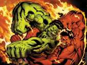 Hulk contre Red Hulk (Marvel Comics)