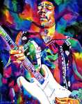 Jimi Hendrix - Purple Haze (L.Glover)