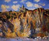 Church at Varenge with morning effect (Monet)