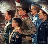 Les Scouts (Rockwell)