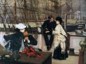 Le capitaine et le second (Tissot)
